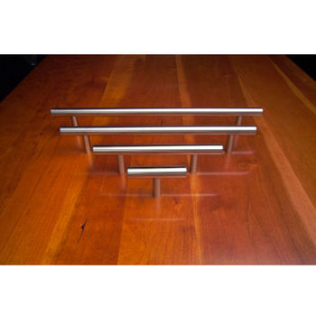 Cabinet Pulls - Stainless Steel Pulls by Arthur Harris - Bar Pull Front View