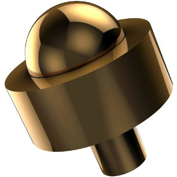 Smooth Polished Brass