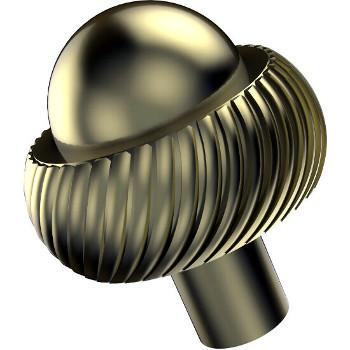 Twisted Satin Brass