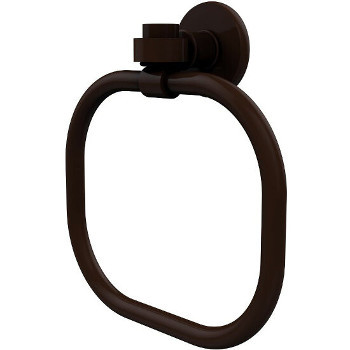 Allied Brass Continental Collection Towel Ring, Premium Finish, Rustic Bronze