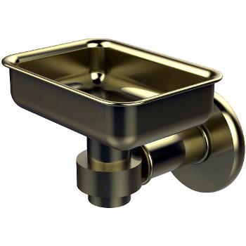 Allied Brass Continental Collection Soap Dish, Premium Finish, Satin Brass
