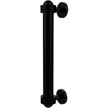 Dotted Matte Black Cabinet Pull