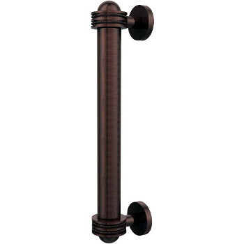 Dotted Antique Copper Cabinet Pull