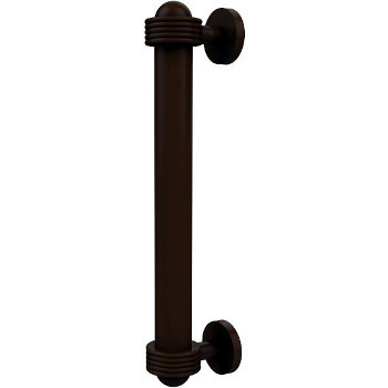 Groovy Antique Bronze Cabinet Pull