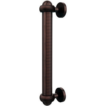 Twisted Antique Copper Cabinet Pull