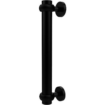 Twisted Matte Black Cabinet Pull