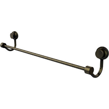 Twisted, 36'' Antique Brass
