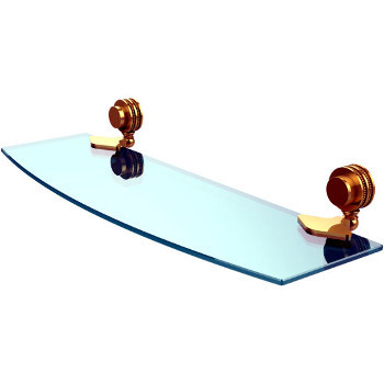 Dotted 18'' Polished Brass