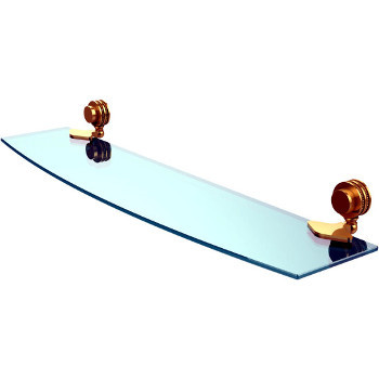 Dotted 24'' Polished Brass