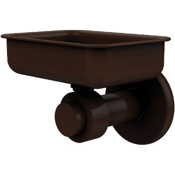 Allied Brass Mercury Collection Wall Mounted Soap Dish, Premium Finish, Rustic Bronze