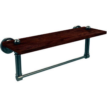 16'' Pewter Shelving with Towel Bar