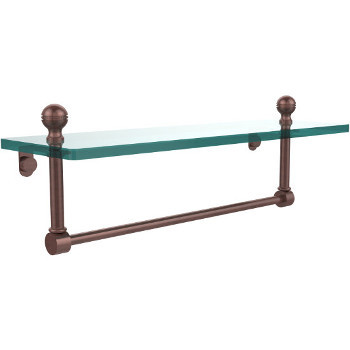 16'' Antique Copper with Towel Bar