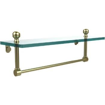 16'' Satin Brass with Towel Bar