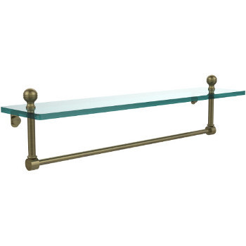 22'' Antique Brass with Towel Bar