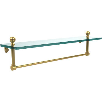22'' Polished Brass with Towel Bar