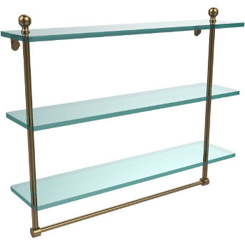 22'' Brushed Bronze with Towel Bar