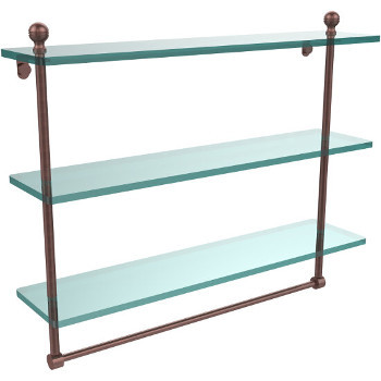 22'' Antique Copper with Towel Bar