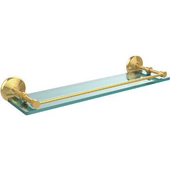22'' Polished Brass Hardware Shelf