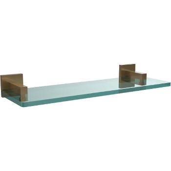 16'' Brushed Bronze Hardware Shelf