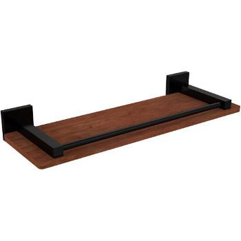 16'' Matte Black Hardware Shelf