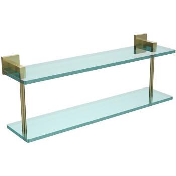 22'' Satin Brass Hardware Shelf