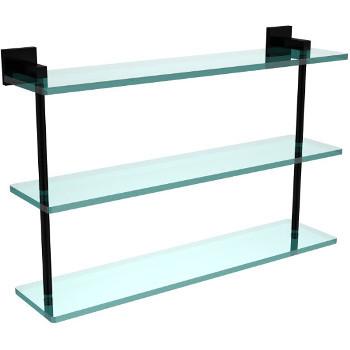 22'' Matte Black Hardware Shelf