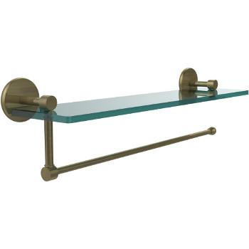 22'' Antique Brass Hardware Shelf