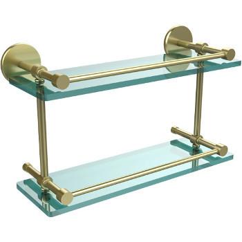16'' Satin Brass Hardware Shelves