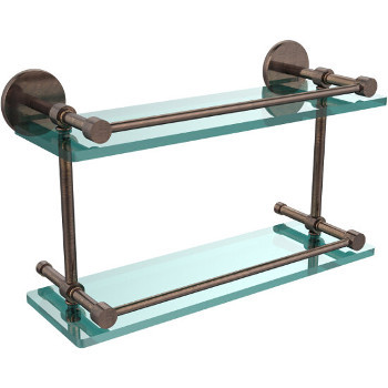 16'' Venetian Bronze Hardware Shelves