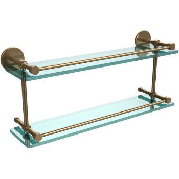 22'' Brushed Bronze Hardware Shelves