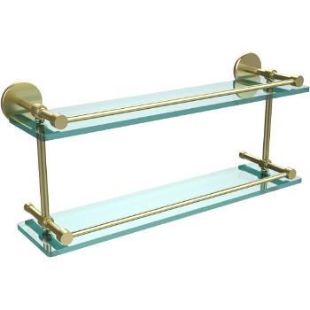 22'' Satin Brass Hardware Shelves