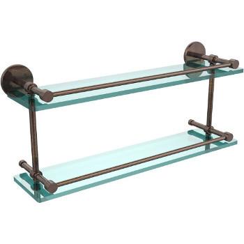 22'' Venetian Bronze Hardware Shelves