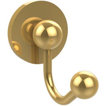 Allied Brass Prestige Skyline Collection Utility Hook, Standard Finish, Polished Brass