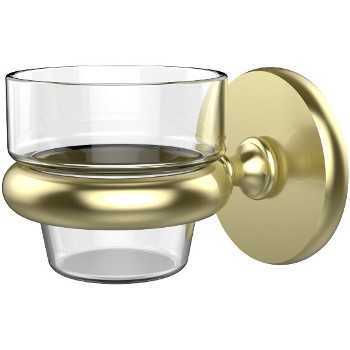 Allied Brass Prestige Skyline Collection Wall Mounted Votive Candle Holder, Premium Finish, Satin Brass