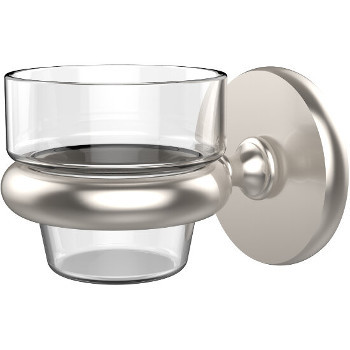 Allied Brass Prestige Skyline Collection Wall Mounted Votive Candle Holder, Premium Finish, Satin Nickel