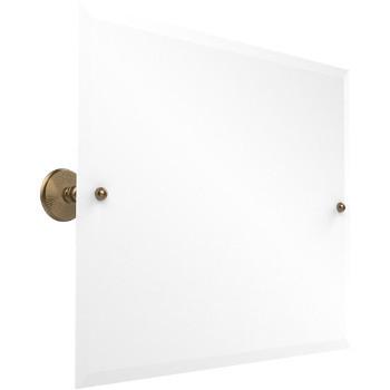 Allied Brass PMC-92 Frameless Rectangular Tilt Beveled Edge Wall Mirror Brushed Bronze