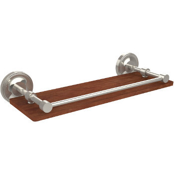 16'' Shelves with Polished Nickel