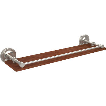 22'' Shelves with Polished Nickel