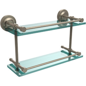16'' Shelves with Pewter