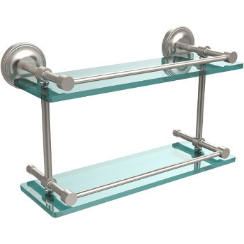 16'' Shelves with Satin Nickel