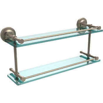 22'' Shelves with Pewter