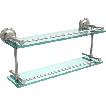 22'' Shelves with Satin Nickel