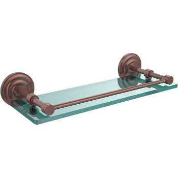 16'' Shelves with Antique Copper Hardware