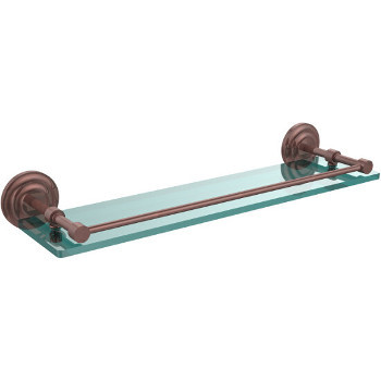 22'' Shelves with Antique Copper Hardware