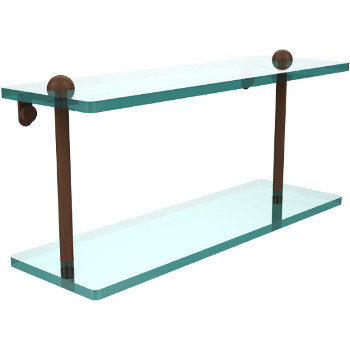 16'' Shelves with Antique Bronze Hardware