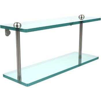 16'' Shelves with Polished Nickel Hardware