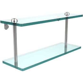 16'' Shelves with Satin Chrome Hardware