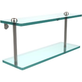 16'' Shelves with Satin Nickel Hardware