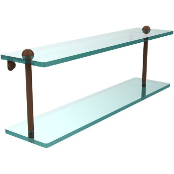 22'' Shelves with Antique Bronze Hardware