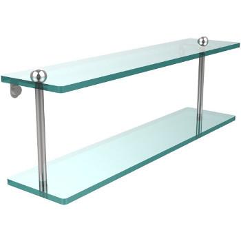 22'' Shelves with Polished Chrome Hardware